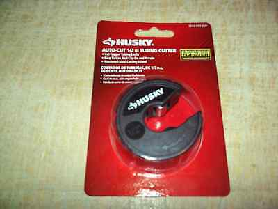 HUSKY AUTO-CUT 1/2 in COPPER TUBING CUTTER! ~ Factory Sealed! ~ Only $14.99!