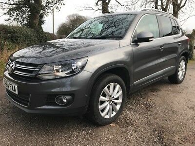 2014,volkswagen Tiguan 2.0 Tdi Dsg 4 Motion Automatic One Owner 76,900 Miles
