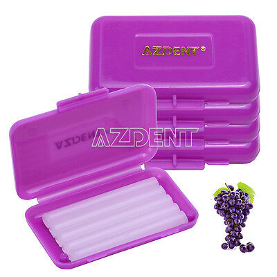 5 Kit AZDENT Dental Orthodontic Ortho Wax Purple-Grape For Braces gum irritation