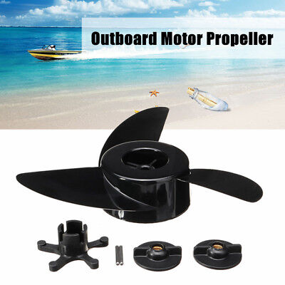 3 Blades Boat Motor Propellers Engines Marine Outboard Propeller Accessories