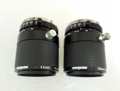 1PC  Computar TEC-M55 Telecentric 55mm Lens Tested
