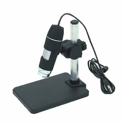 50-500X 2MP USB 8 LED Light Digital Microscope Endoscope Video Magnifier IM#C