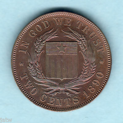 Liberia. 1890 2 Cent - Pattern... Prooflike - Near FDC.. KM-Pn52