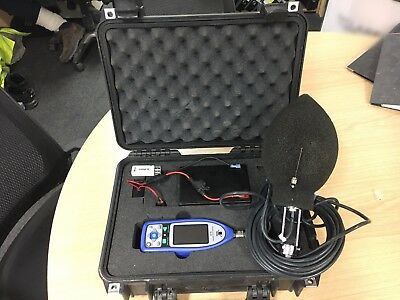 Rion NL-52 Sound Level Meter with WS-15 Outdoor Windshield System