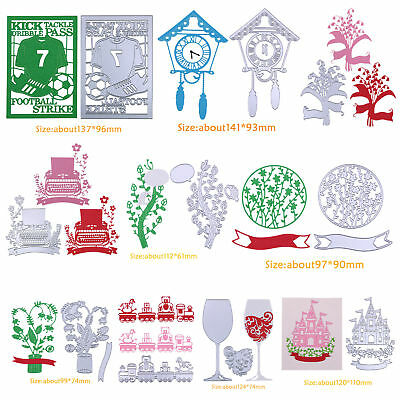 Metal DIY Cutting Dies Stencil Scrapbook Album Paper Card Photo Embossing Craft