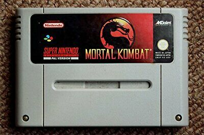 Mortal Kombat (SNES) Book The Cheap Fast Free Post