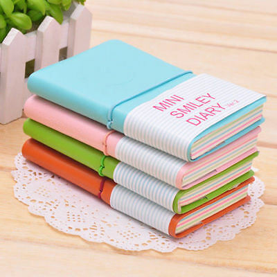 Charming Note Book Mini Portable Smile Smiley Notebook Memo Paper Diary