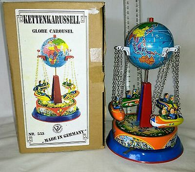 Tin Toy Carousel .Made in Germany