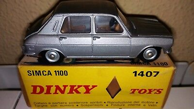 Dinky Toys. France Meccano. Simca 1100.ref 1407. Neuf In Boite!!