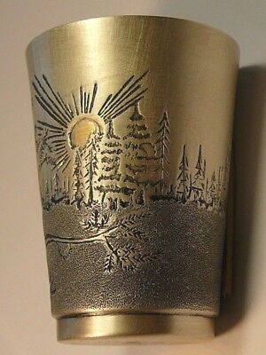 Royal Faberge ONE Vodka Cup, Imperial Russian 88 Silver S.Peterburg 1908