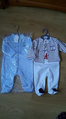 brand new baby boy clothes -3-6 months