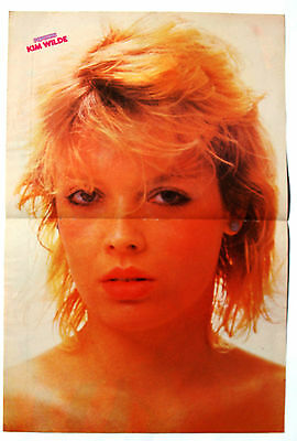 Kim Wilde Rare Centrespread  A3 Poster  Mint Condition Clipping Cutting / Pin Up