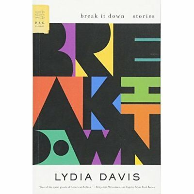 Break It Down: Stories Davis, Lydia