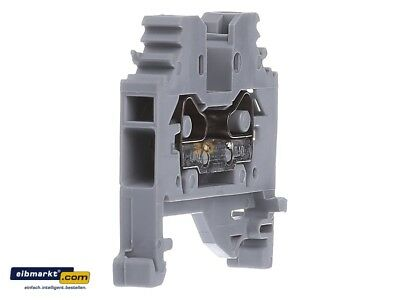 Wago Clamp 281-101, 4 mm² 2-CONDUCTOR THROUGH TERMINAL BLOCK; LATERAL MARKING; C