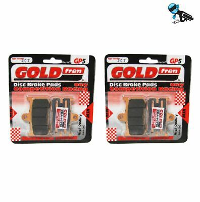 Rear Disc Brake Pads for Triumph Tiger 1050 Sport 2013 1050cc  By GOLDfren