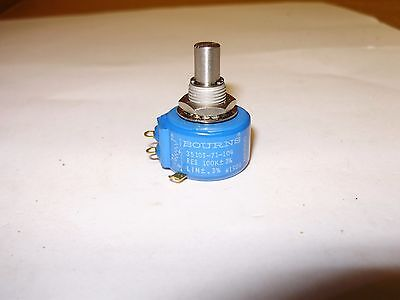 BOURNS 3510S-71-104 Potentiometer 100K 3 Turns 3% NEW OLD STOCK