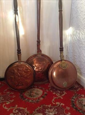 Antique Bed Warmers