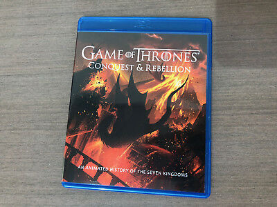 Game of Thrones: Season 7 BONUS DISC ONLY Conquest & Rebellion Blu-Ray New