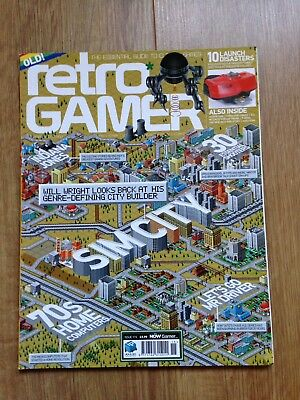 Retro Gamer Magazine Sim City Issue 115 Excellent Condition
