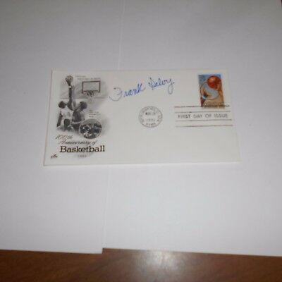 Frank Selvy is an former American basketball player Hand Signed FDC