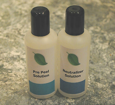Pre Peel and Neutralizer solution – Enhances the peeling process – 2 x 100ml