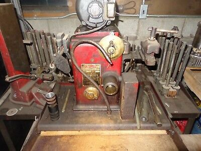 sunnen 550 rod honing machine with tooling and rod aligning tool