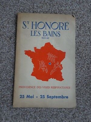 St Honore Les Bains information booklet 1960's