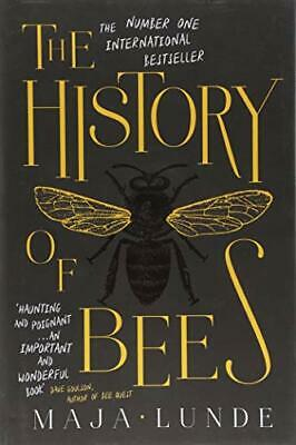 The History of Bees by Lunde, Maja Book The Cheap Fast Free Post
