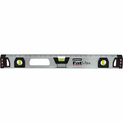 "Stanley FatMax Magnetic I Beam Spirit Level 24"" / 60cm"