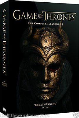 Game Of Thrones Complete Seasons 1-5 Dvd Brand New