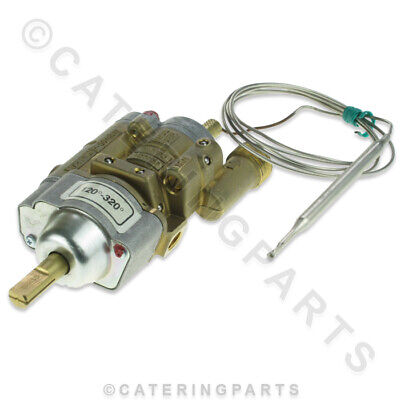 ELECTROLUX ZANUSSI PEL 24ST 058369 GAS TAP THERMOSTAT VALVE 120-320C 12mm IN/OUT