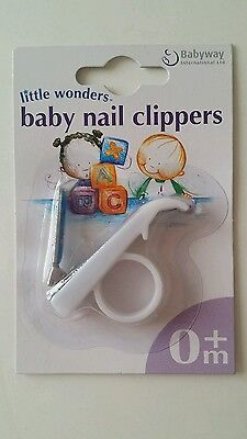 White Small Baby Nail Clippers Babies Safe Safety Delicate Gentle Nails Cutters