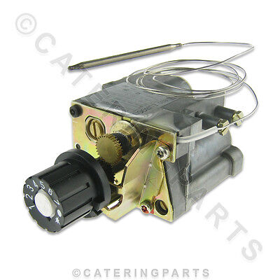"Euro-Sit 0.630.328 Gas Valve Thermostat 280C 0630328 40-280°C In 3/8"" Out 3/8"""