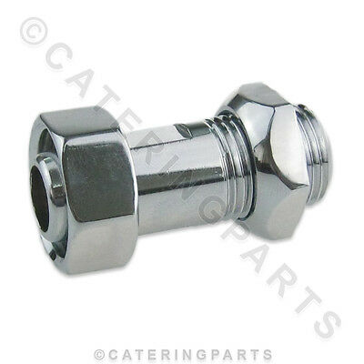"Tomlinson 1000774 Chrome Shank 1/2"" Nps Thread For S Series Water Boiler Taps"