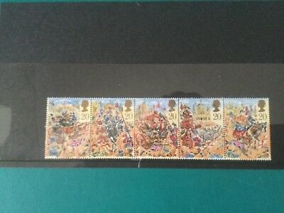 Gb mint stamps (r11) 1989 The Lord Mayors Show
