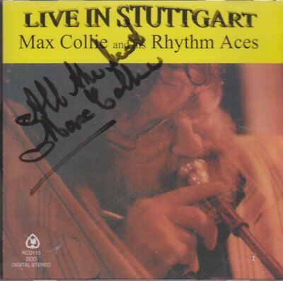 Max Collie And His Rhythm Aces Live In Stuttgart (Mit Autgramm) 1998 Reality CD