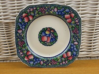 """Vintage Mintons Rotique Square Plate Cake Plate Cabinet Plate 8.5"""""""