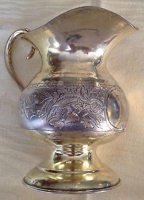 Russian 84 Silver Milk Jug Fully Hallmarked And Dated 1895