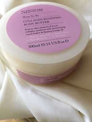 Sanctuary Spa Covent Gardens MUM TO BE Collagen Boosting Body Butter - 300ml
