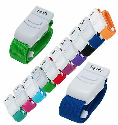 Topzilly CE Certified Medical Tourniquets with Quick and Slow Release Uk Seller