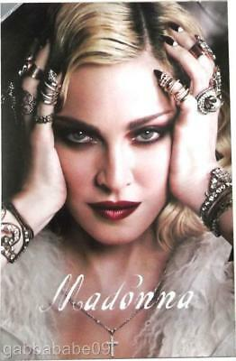 """MADONNA  2018 CALENDAR POSTER OFFICIAL LIMITED EDITION 24"""" x 36"""" MINT (300 ONLY)"""