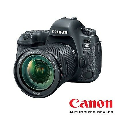Canon 6D Mark II w/ EF 24-105mm IS STM Lens ***USA AUTHORIZED***