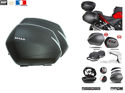 Paires de Valises / sacoches laterales SHAD SH36 moto scooter  coffre topcase