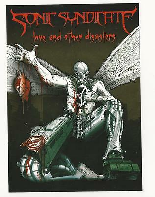 SONIC SYNDICATE - Love and other disasters  Aufkleber-Stickers  Neu-New