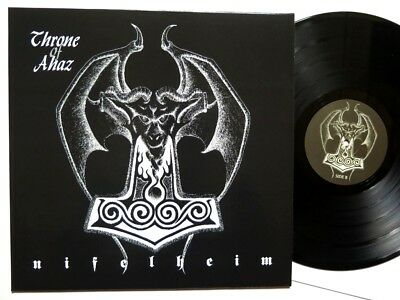 Throne of Ahaz - Nifelheim LP SWE Black Metal lim.300