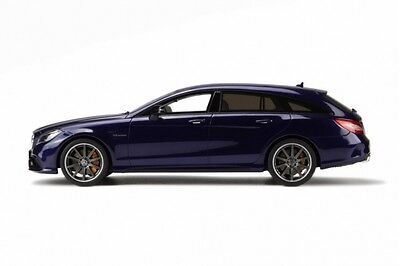 1/18 Gt Spirit Mercedes Benz Cls 63 Amg Shooting Brake Blau