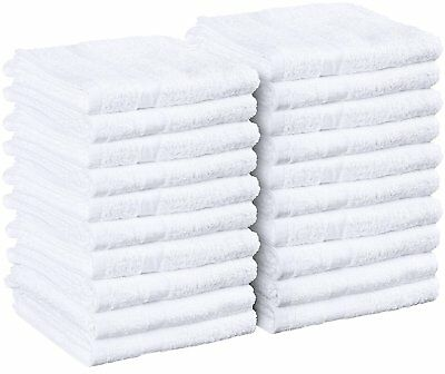 600 new white15x25  pure cotton terry hand towels salon//gym summit collection