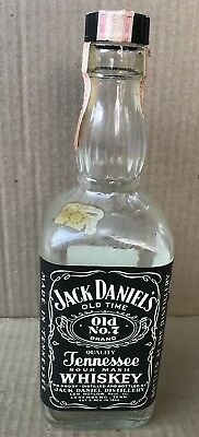 Vintage 1978 JACK DANIELS Black Label One Pint Bottle 90 Proof RARE