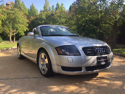 2001 Audi TT Base Convertible 2-Door 59k low mile quattro roadster free shipping warranty awd 6 speed 225 cheap clean