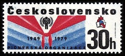Czechoslovakia 1979 IYC/Child Pioneer Scarf Scouts Scouting 1v MNH